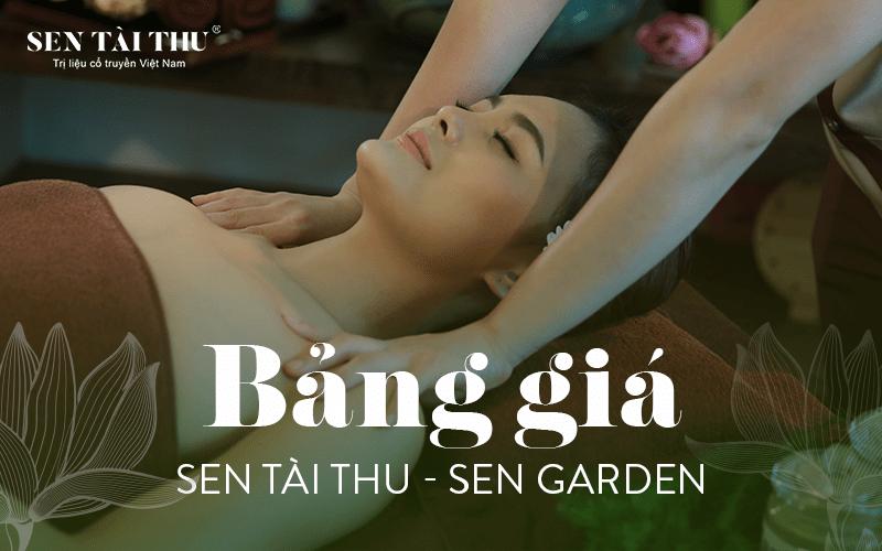 Bảng giá Sen Tài Thu - Sen Garden