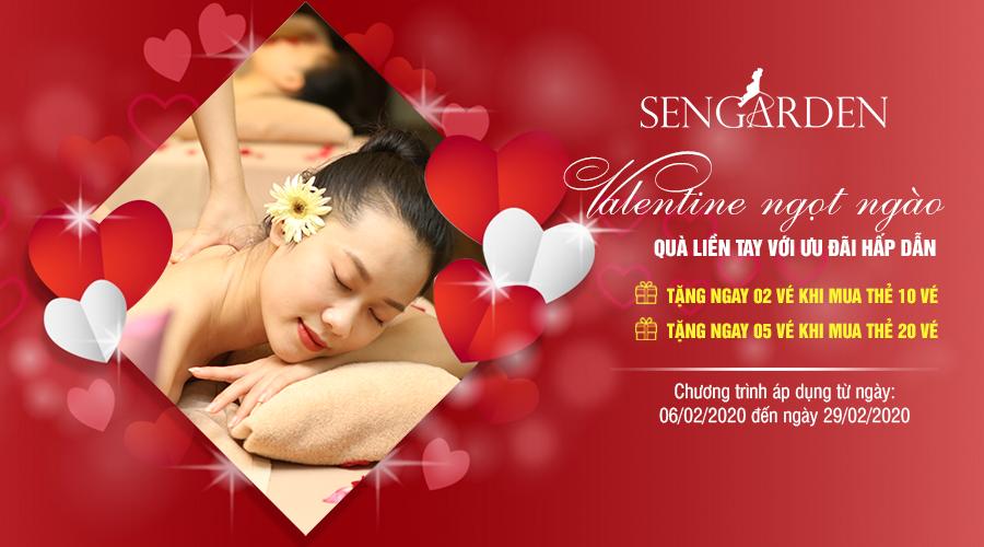 Sengarden - Valentine ngọt ngào