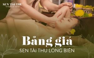 Bảng giá Sen Tài Thu Long Biên